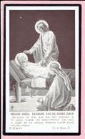 Bidprentje - Henri LECOUTERE Wed. Louise CALLEMIN - Moorsele 1844 - 1932 - Devotion Images