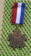 Medaille / Medal - Medaille - Avondvierdaagse NR : 5 -Suurd Groningen  - The Netherlands - Nederland