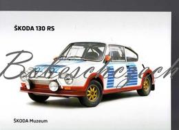 9-42 CZECH REPUBLIC 2010 - Skoda 1130 RS1975-1980 Racing Car   - Oldtimer - Skoda Muzeum - Autres