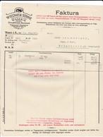 Rechnung Wiedmer Söhne, Spezialfabrik Für Rauchtabake, Wasen I. E. 1925 - Suisse