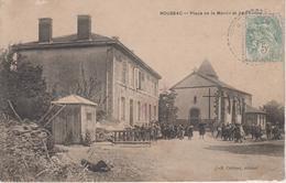 CPA Roussac - Place De La Mairie Et De L'église (avec Jolie Animation) - Frankrijk
