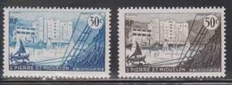 ST PIERRE ET MIQUELON Scott # 346-7 MH - St.Pierre & Miquelon