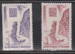 ST PIERRE & MIQUELON Scott # 325-6 MH - St.Pierre & Miquelon