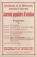 Aviation - Journée Populaire D'aviation - Blécherette-Lausanne - 1927 - Aviación