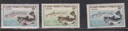 ST PIERRE & MIQUELON Scott # 351-3 MH - Codfish - St.Pierre & Miquelon