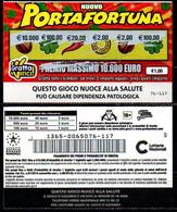 Gratta E Vinci - Nuovo Portafortuna - Biglietti Della Lotteria