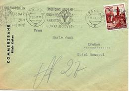 Flamme Krakau 1941 Sur Lettre Voyage - Ocupación 1938 – 45