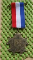 Medaille / Medal - Medaille - Avondvierdaagse NR : 4 -Suurd Groningen  - The Netherlands - Nederland