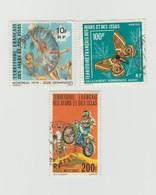 Territoire Français Des Afars Et De Issas - Lot 5 Timbres 1976 Mi FR-AI 150 - 146 - 154 - 1977 Mi 163 - 1975 Mi 140 - Gebraucht