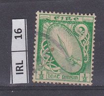 IRLANDA   1940Spada 1/2  Usato - 1937-1949 Éire