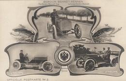 Gordon Bennet Rennen - Osterreichische Fahrer (Mercedes) - Officielle Postkarte N°2 - Otros