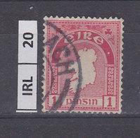 IRLANDA   1940Profilo Irlanda 1 Usato - 1937-1949 Éire