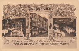 Köln - Weinstuben Zum Treppchen - Mathias Beckmann - Koeln