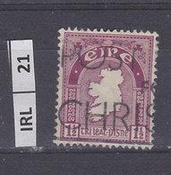 IRLANDA   1940Profilo Irlanda 1,5 Usato - 1937-1949 Éire
