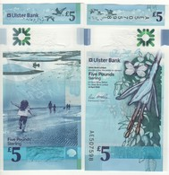 IRELAND  Northern  Newly Issued 5 Pounds ULSTER Bank Polimer   2019  UNC - [ 2] Ireland-Northern