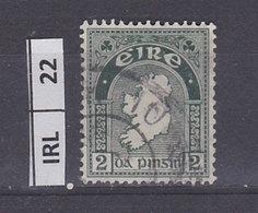 IRLANDA   1940Profilo Irlanda 2 Usato - 1937-1949 Éire
