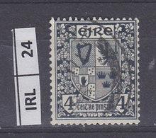 IRLANDA   1940Stemma 4 Usato - 1937-1949 Éire