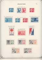 USA  .  5  Pages  Avec Timbres     .     *  Et  **  (90%:  ** ) - United States