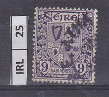 IRLANDA   1940Stemma 9 Usato - 1937-1949 Éire