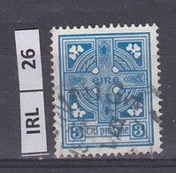 IRLANDA   1940Croce 3 Usato - 1937-1949 Éire