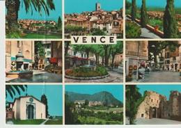 C. P. - PHOTO - SOUVENIR DE VENCE - 9 VUES - S. E. P. T. - 88/126 - Vence