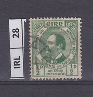 IRLANDA   1943Anniversario Lega Gaelica 1/2 Usato - 1937-1949 Éire