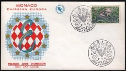 Monaco 1962 / Europa CEPT / FDC - 1962