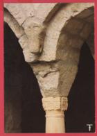 CPM*34-ST-GUILHEM-LE-DESERT - Cloître De L'Abbatiale- Colonne, Chapiteau Modillon*SUP *2 SCANS - Autres Communes