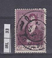IRLANDA   1952Thomas Moore 2,5 Usato - 1949-... Repubblica D'Irlanda