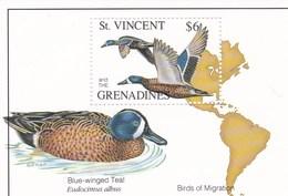 Saint Vincent Et Les Grenadines YV BF ? MNH 1993 Canards - Canards