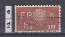 IRLANDA   1960Europa 6 Usato - 1949-... Repubblica D'Irlanda