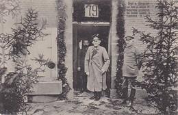 AK Haeseler Vor Schloß Cornay - Geburtstag - Patriotika - Feldpost Festungslazarett Paixhansschule Metz - 1915 (39884) - Guerre 1914-18