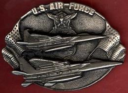 ** BOUCLE  CEINTURE  U. S.  AIR  FORCE ** - Ceintures & Boucles