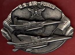 ** BOUCLE  CEINTURE  U. S.  AIR  FORCE ** - Cinture & Fibbie