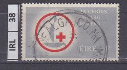 IRLANDA   1963Croce Rossa 4 Usato - 1949-... Repubblica D'Irlanda