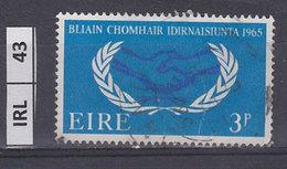 IRLANDA   1965Cooperazione Internazionale  3 Usato - 1937-1949 Éire