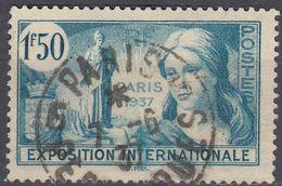 FRANCIA - France - 1937 - Yvert 336 Usato. - Frankreich