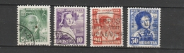 SVIZZERA  Us  1936  Mi 306-09   -     VEDI FOTO ! - Svizzera