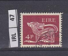 IRLANDA   1968Animali Simbolici 4 Usato - 1949-... Repubblica D'Irlanda
