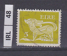 IRLANDA   1968Animali Simbolici 5 Usato - 1949-... Repubblica D'Irlanda