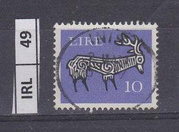 IRLANDA   1968Animali Simbolici 10 Usato - 1949-... Repubblica D'Irlanda