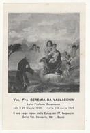 Santino Antico Venerabile Fra Geremia Da Vallacchia Da Napoli - Religion & Esotericism