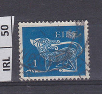 IRLANDA   1971Animali Simbolici 1 Usato - 1949-... Repubblica D'Irlanda