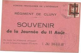 Souvenir De La Journée Du  11 Aout   Numérotée 3044   (clasviol) - Frankreich