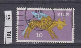 IRLANDA   1971Animali Simbolici 10 Usato - 1949-... Repubblica D'Irlanda