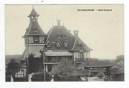 CPA 76 Cuy Saint Fiacre Chalet Normand - Altri Comuni