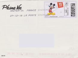 Bandes Dessinées : Montimbre En Ligne 90 Ans De Mickey (oblitération Toshiba 38276A-04 Signes Inférieurs Et Supérieurs) - Fumetti