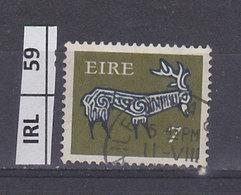 IRLANDA   1974Animali Simbolici 7 Usato - 1949-... Repubblica D'Irlanda