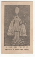 Santino Antico Sant'Elpidio Vescovo Da Casapulla - Caserta - Religione & Esoterismo