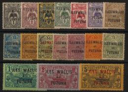 Wallis Et Futuna - 1920 - N°Yv. 1 à 17 - Série Complète - Neuf * / MH VF - Wallis And Futuna